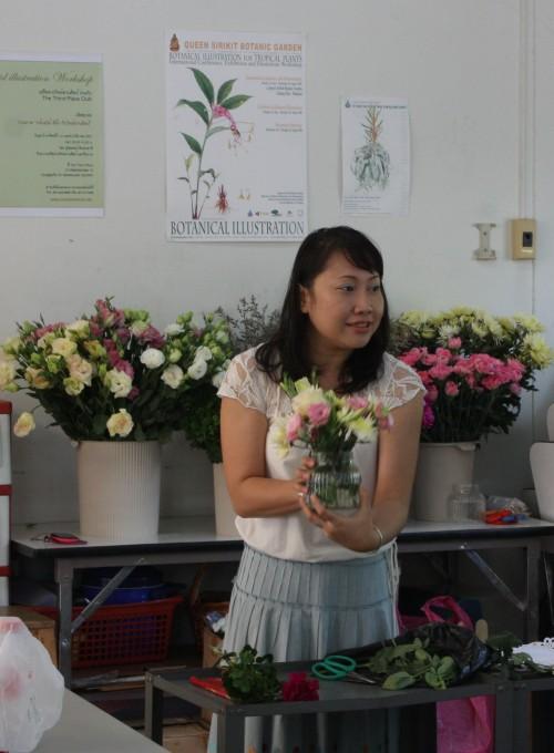 คอร์สสอนจัดดอกไม้